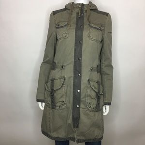 EDC by Esprit Size M Utility Jacket DoubleBreasted
